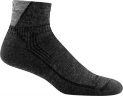 DT1959 Men's Darn Tough Hiker 1/4 Sock Cushion - Black