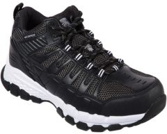 77177-BKW Men's Skechers Work Queznell Safety Toe