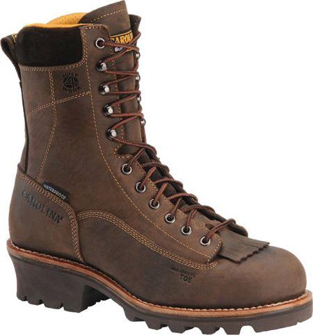 CA7022 Men's Carolina Lace-to-Toe Logger Soft Toe
