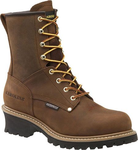 CA8821 Men's Carolina Logger Soft Toe